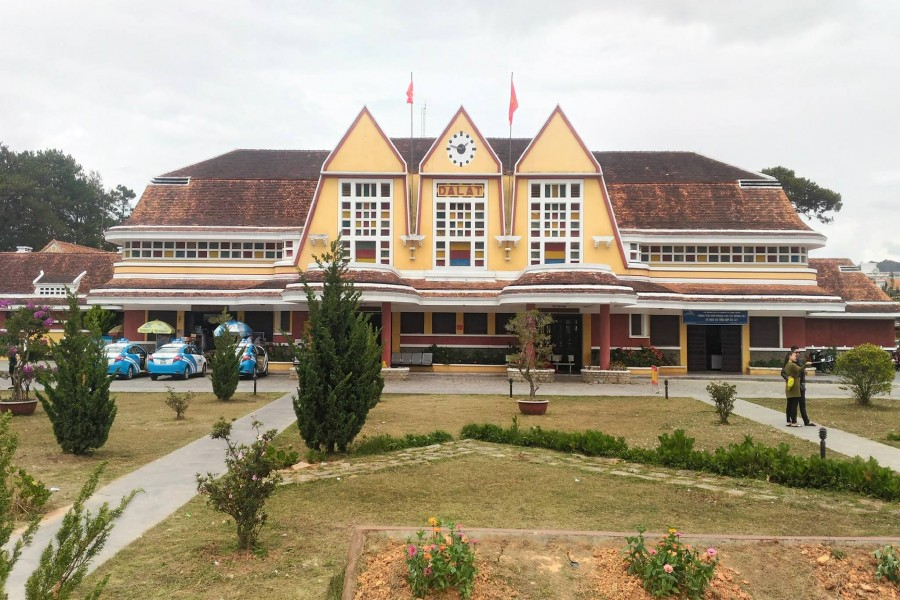 Dalat old train station