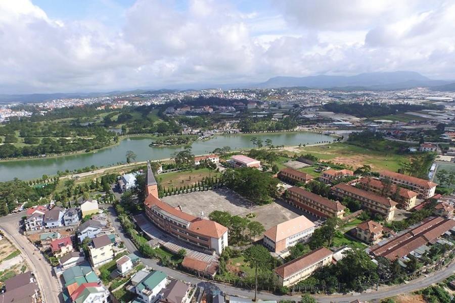 Dalat or Da Lat the beautiful city of Vietnam
