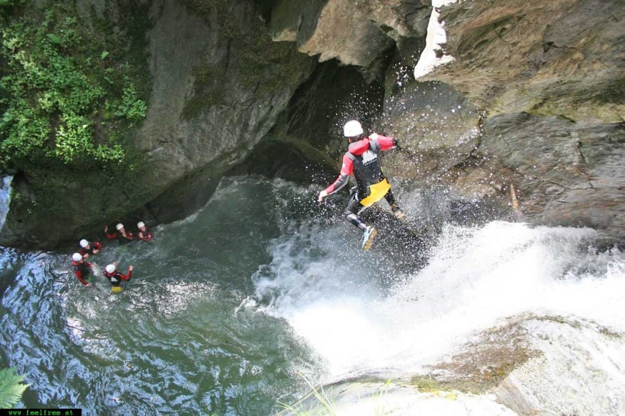 Dalat canyoning is must do activity