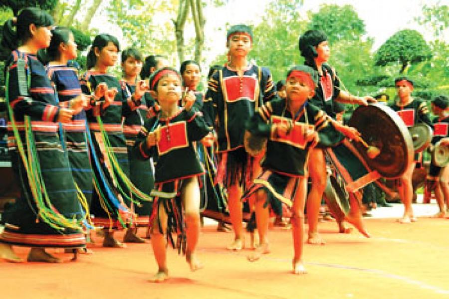 The local people of Dalat Vietnam