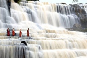 Pongour Waterfall in Dalat Vietnam
